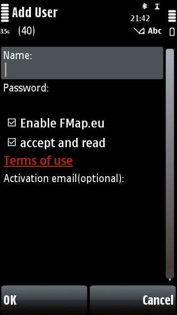 FMap - Add user